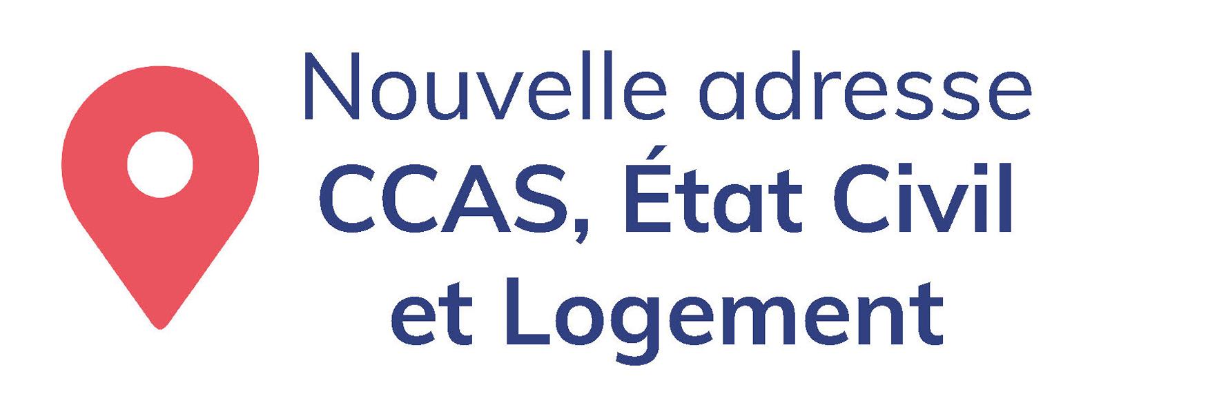 Le CCAS change d'adresse