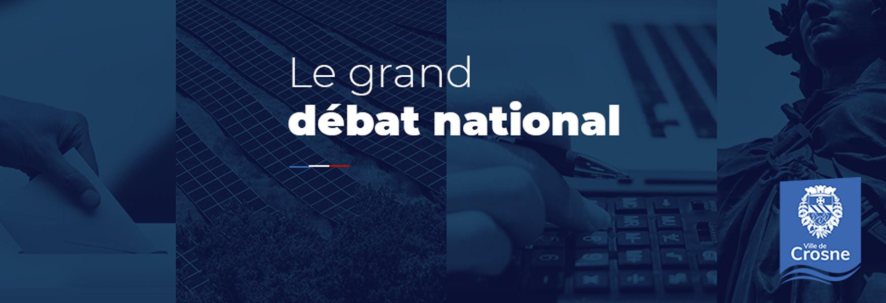 Message de M. le Maire : Grand Débat National