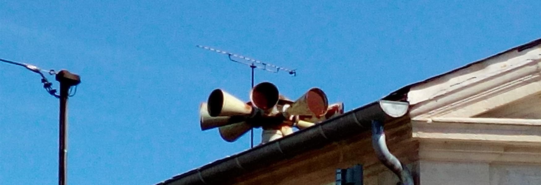 Déclenchement des sirènes SIAP