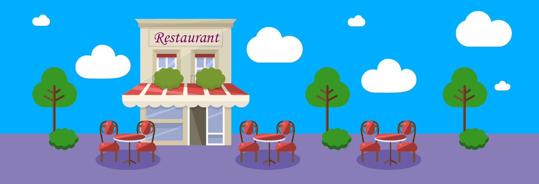 Réouverture des cafés et restaurants