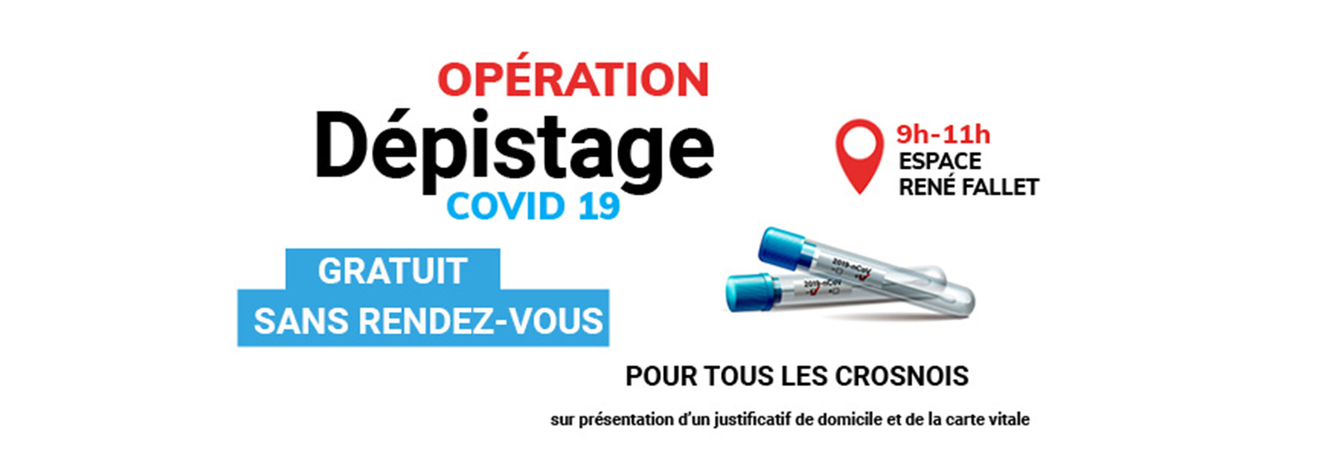 Operation depistage COVID