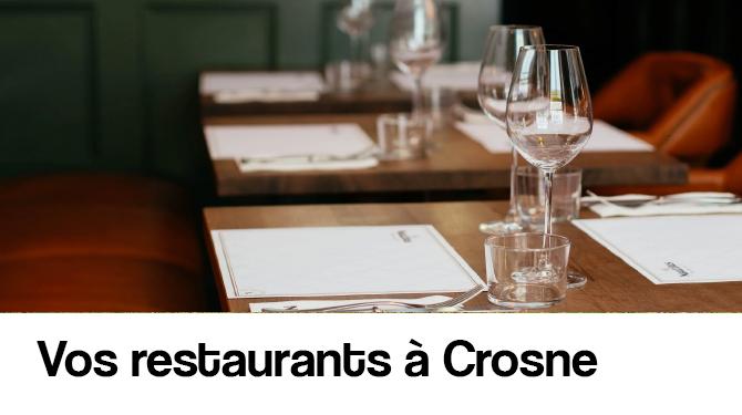 Vos restaurants à Crosne